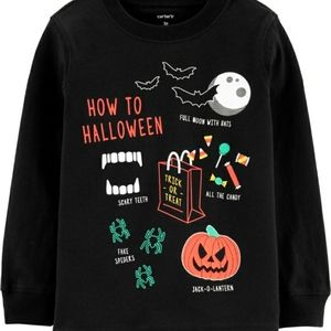 🎃Carter's Toddler Boy 5T Halloween T-Shirt
